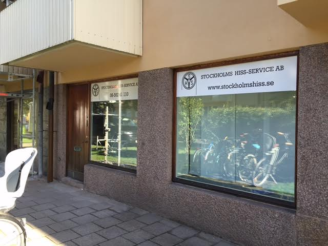 Stockholms Hiss-Service nya kontor, Brantinggatan 31 Stockholm